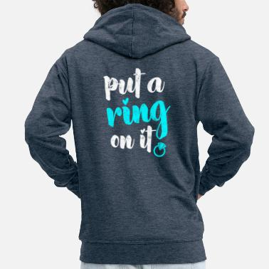 Marry Marry - Men's Premium Zip Hoodie