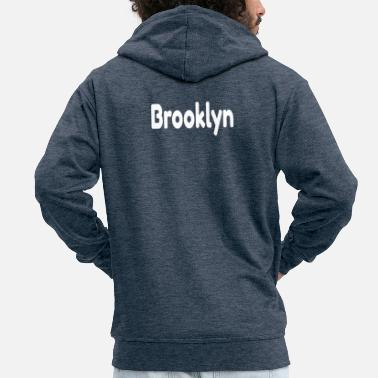 Brooklyn Brooklyn - Premium Hettejakke for menn