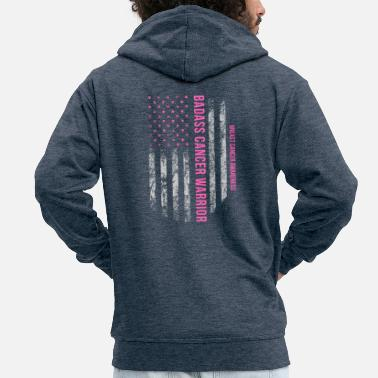Breast Cancer Walk Breast Cancer, Cancer, Breast Cancer Month, Gift, USA - Men's Premium Hooded Jacket