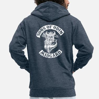Odin Sons of odin - Men's Premium Hooded Jacket