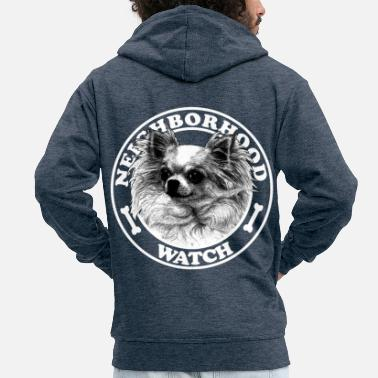 Neighborhood Neighborhood watch - Men's Premium Zip Hoodie