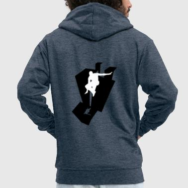 Parkour - Men's Premium Hooded Jacket