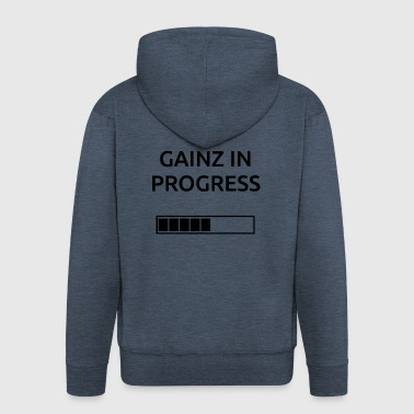 Gainz BonW - Men's Premium Hooded Jacket