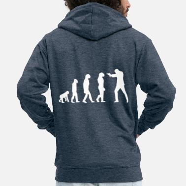 Evolution evolution - Men's Premium Zip Hoodie