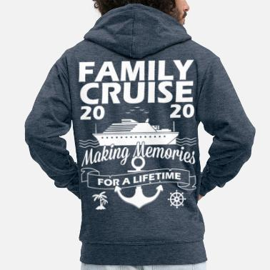Trip Making Memories For A Lifetime Matching Family - Men's Premium Zip Hoodie
