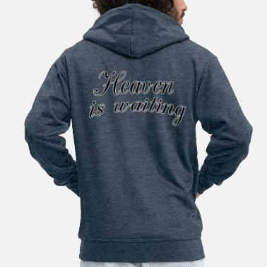 Sexy Heaven is waiting - Men's Premium Zip Hoodie