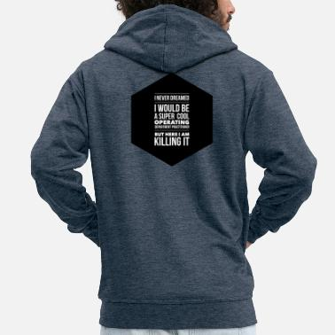 Odp ODP dream - Men's Premium Zip Hoodie