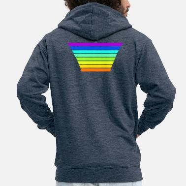 color range - Men's Premium Zip Hoodie