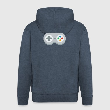 Gamepad! - Men's Premium Hooded Jacket