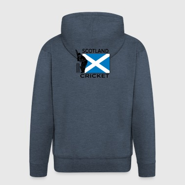 Cricket Scotland - Men's Premium Hooded Jacket