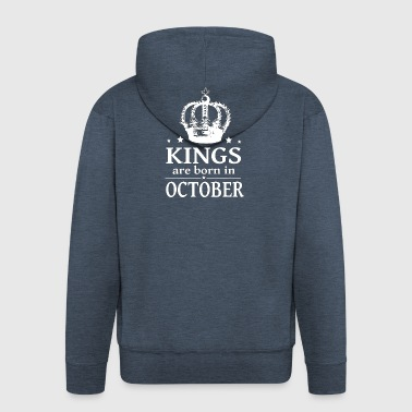 October King - Men's Premium Hooded Jacket