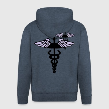 Caduceus - Men's Premium Hooded Jacket