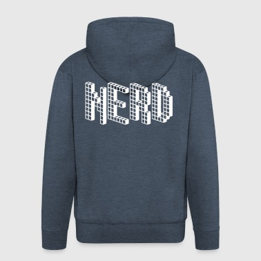 NERD - Men's Premium Hooded Jacket
