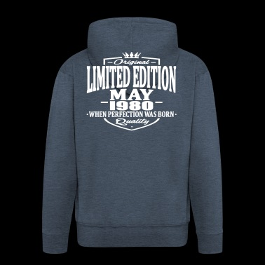 Limited edition may 1980 - Men's Premium Hooded Jacket