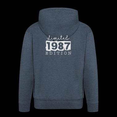 LIMITED EDITION - 1987 - Men's Premium Hooded Jacket