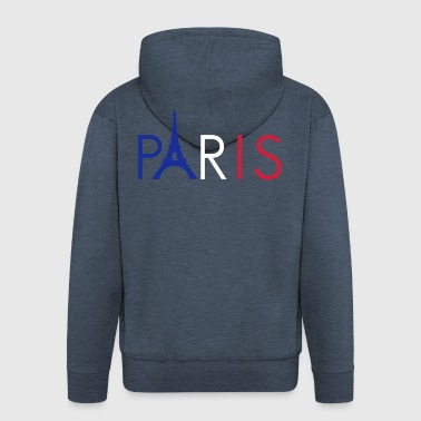 Paris - Men's Premium Hooded Jacket