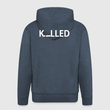 Killed production - Men's Premium Hooded Jacket