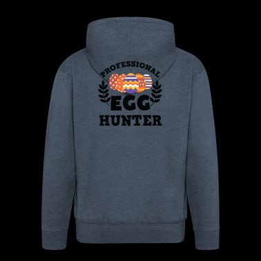 Awesome Professional Egg Hunter T-Shirt - Men's Premium Hooded Jacket