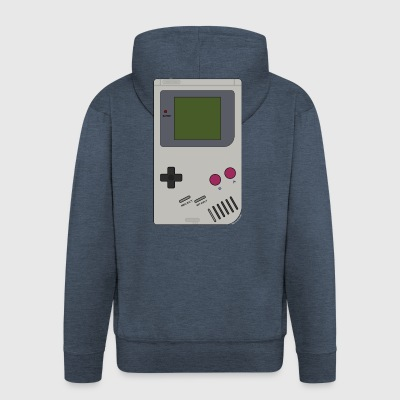 Game Boy Batteries not included! - Men's Premium Hooded Jacket