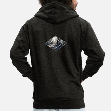 Forest Forest forests in the forest - Men's Premium Zip Hoodie