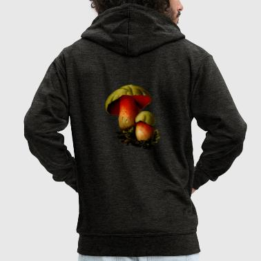 Mushroom mushroom - Men's Premium Hooded Jacket