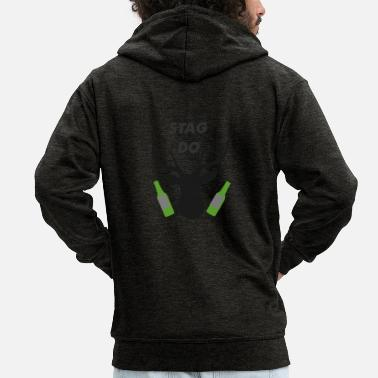 Stag Do stag do - Men's Premium Hooded Jacket