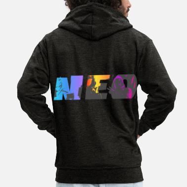Treat Neo Fortnit - Men's Premium Zip Hoodie