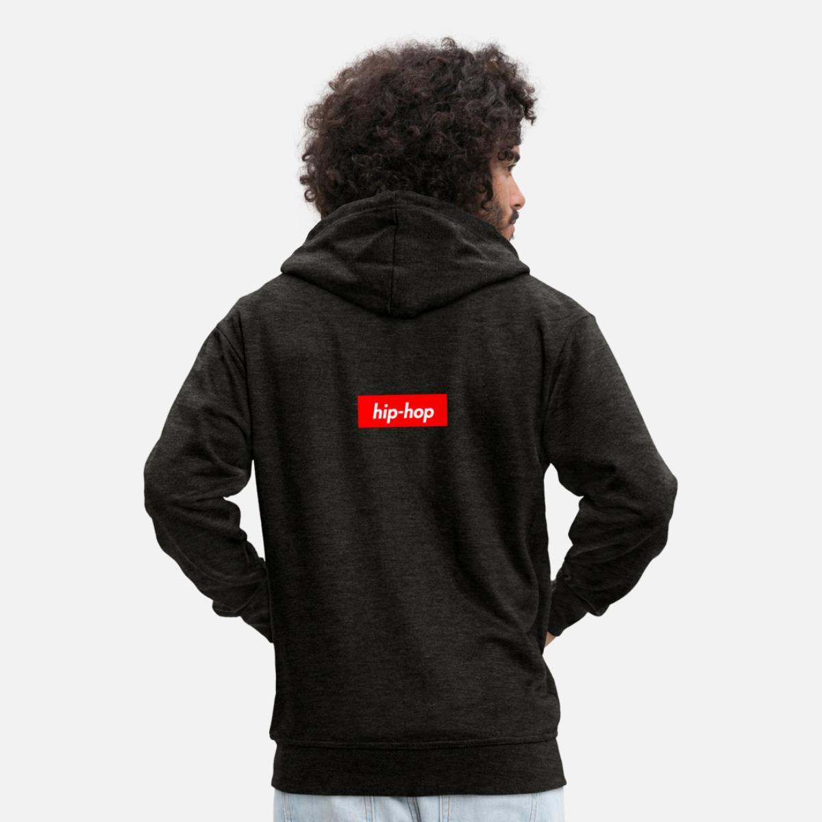 Premium Veste Spreadshirt Homme À Hop Hip Capuche xBIaCn