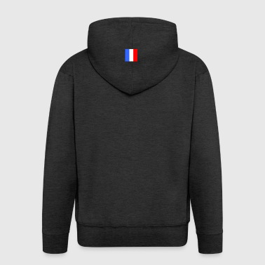 French flag - Men's Premium Hooded Jacket
