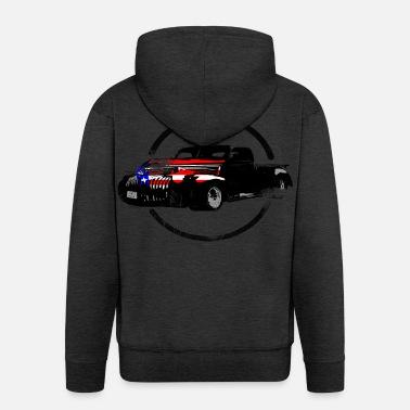 77c62e3f7816 Pick Up Pick Up USA America - Men  39 s Premium Zip Hoodie