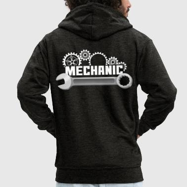 Mechanic mechanic - Men's Premium Hooded Jacket