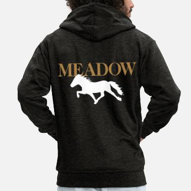 Meadow Meadow - Men's Premium Zip Hoodie