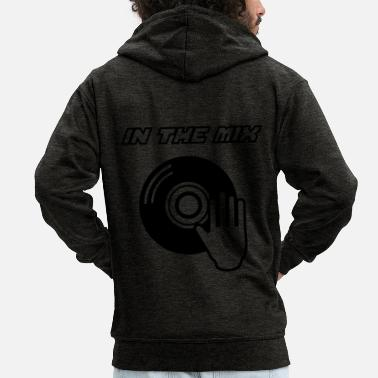 Mixing IN THE MIX !!! - Men's Premium Zip Hoodie