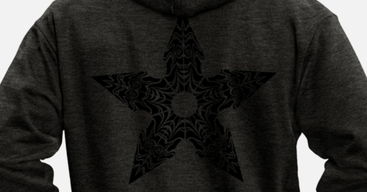 Ninja étoile Stylisé Veste à capuche premium Homme | Spreadshirt