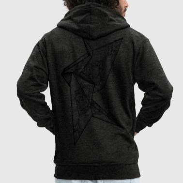 Insane Crane - Men's Premium Hooded Jacket