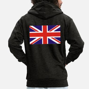 Union Jack Union Jack - Men's Premium Hooded Jacket