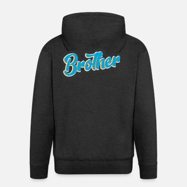 Brother Brother - Men's Premium Hooded Jacket