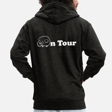 On Tour On tour - Men's Premium Zip Hoodie