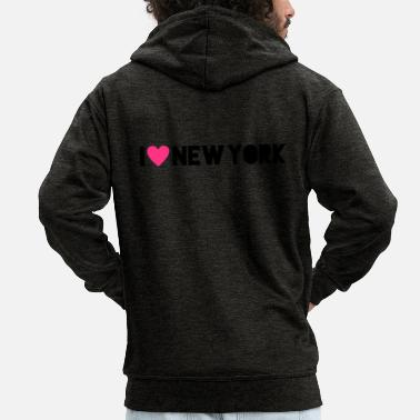 I Love New York I Love New York - Miesten premium hupputakki