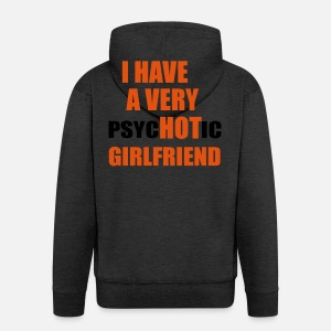 j ai une copine très chaude Veste à capuche premium Homme   Spreadshirt 3f1613baf15c