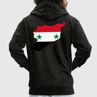 syria - Men's Premium Hooded Jacket
