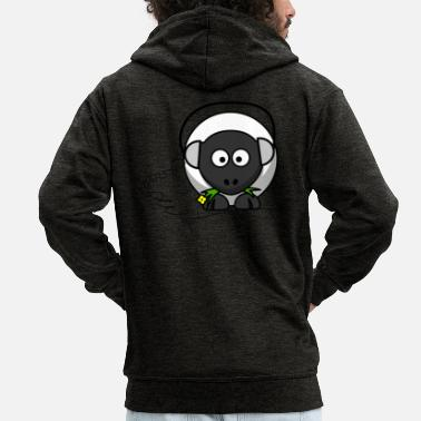Sheep Sheep - Men's Premium Hooded Jacket