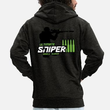 Sniper WEME SNIPER GREEN - Men's Premium Hooded Jacket