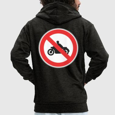 No motocycles - Men's Premium Hooded Jacket