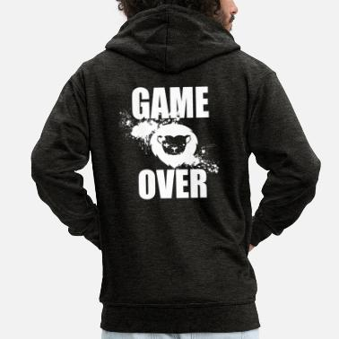 Game Over Gamer - Game Over - Premium hettejakke for menn