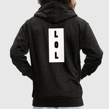 LOL - Men's Premium Hooded Jacket
