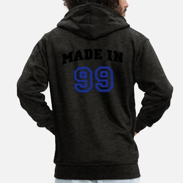 Beautees mp_madein99b - Men's Premium Zip Hoodie