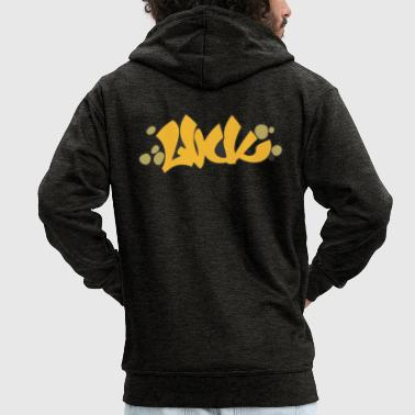 Graffiti luck graffiti - Men's Premium Hooded Jacket