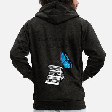 Strange Life Is Strange: Time Waits - Men's Premium Zip Hoodie