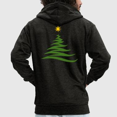 Xmas xmas tree - Men's Premium Hooded Jacket